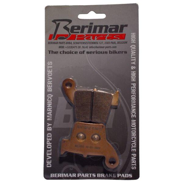 BERIMAR PARTS Gesinterde Remblokken HM CR 125, CR 150, CR 250, CRF 250, CRM 125,